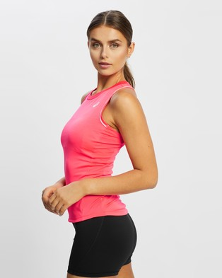 ASICS - Pipping Tank Muscle Tops (Diva Pink)