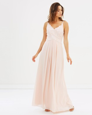 Alabaster The Label – New Romantic Dress – Bridesmaid Dresses Blush Pink