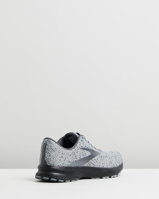 Brooks Launch 7   Men's - Outdoor Shoes (Grey, Blackened Pearl & Black )