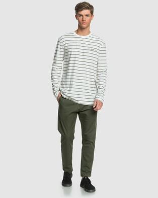 Quiksilver Mens Kentbold Long Sleeve T Shirt - Long Sleeve T-Shirts (KENTBOLD KALAMATA)