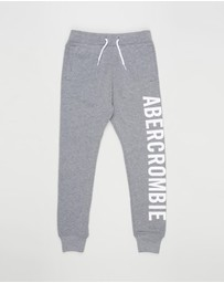 Abercrombie & Fitch - Logo Joggers - Teens