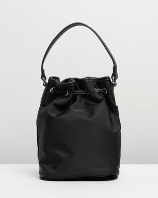 PETA AND JAIN - Anisha Crossbody Mini Bucket - Handbags (Black Nylon) Anisha Crossbody Mini Bucket