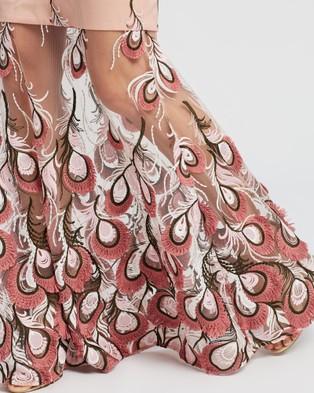 Romance by Honey and Beau Chantel Maxi - Dresses (Nude & Pink)