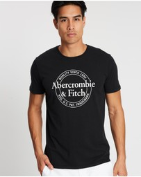 Abercrombie & Fitch - SS Print Logo Tee