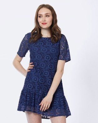 Princess Highway – Alicia Dress Blue