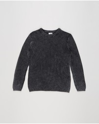 Free by Cotton On - Drake Knit Crew Jumper - Teens