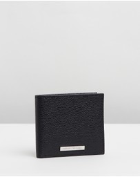 Armani Exchange - Leather Bifold Credit Wallet