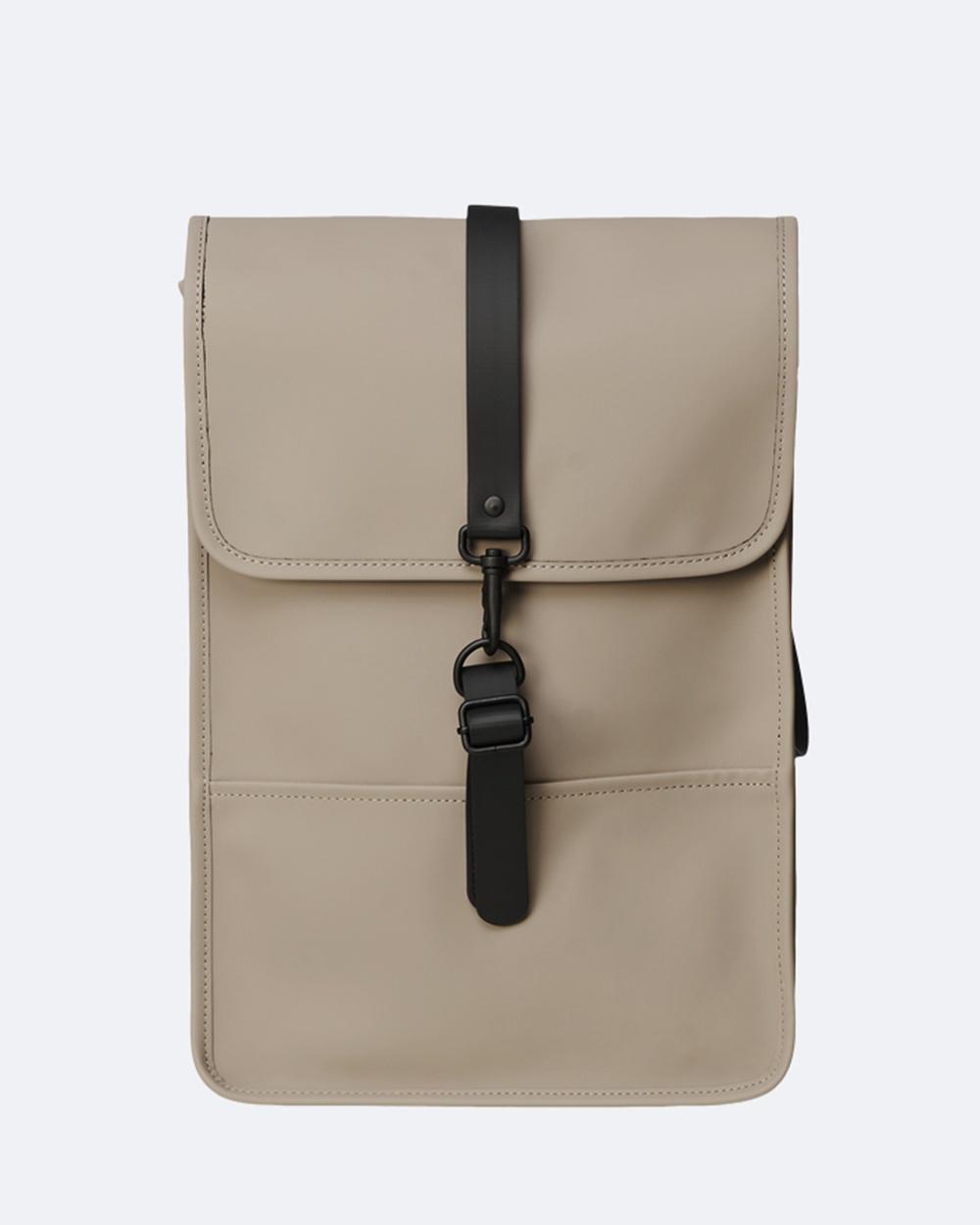 RAINS Backpack Mini Backpacks Taupe