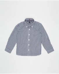 Tommy Hilfiger - Long Sleeve Gingham Shirt - Kids