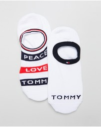 Tommy Hilfiger - Peace Love Ankle Socks