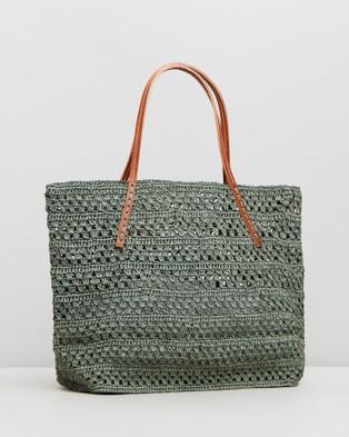 Sans Arcidet Paris Beby Bag Cuir Small - Handbags (Safari)