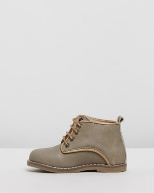 Anchor & Fox Canterbury Boots   Kids - Boots (Olive)