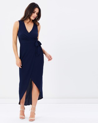 Fresh Soul – Bungalow Dress – Dresses (Navy)