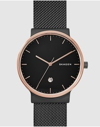 Skagen - Ancher Black Analogue Watch