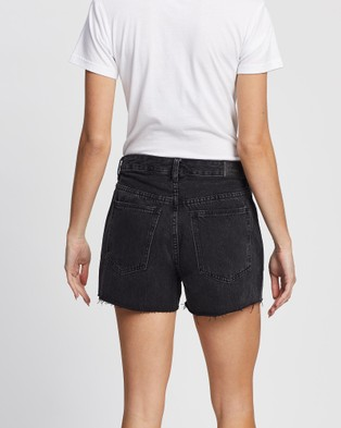 All About Eve Quinn Denim Shorts WASHED BLACK