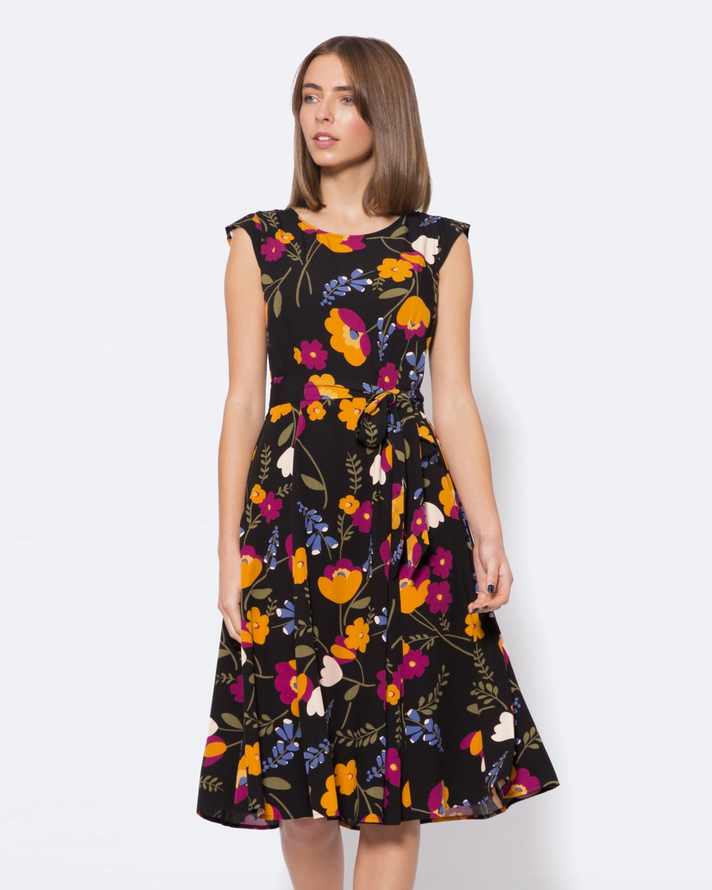Princess Highway Eloise Dress Dresses Black Eloise Dress