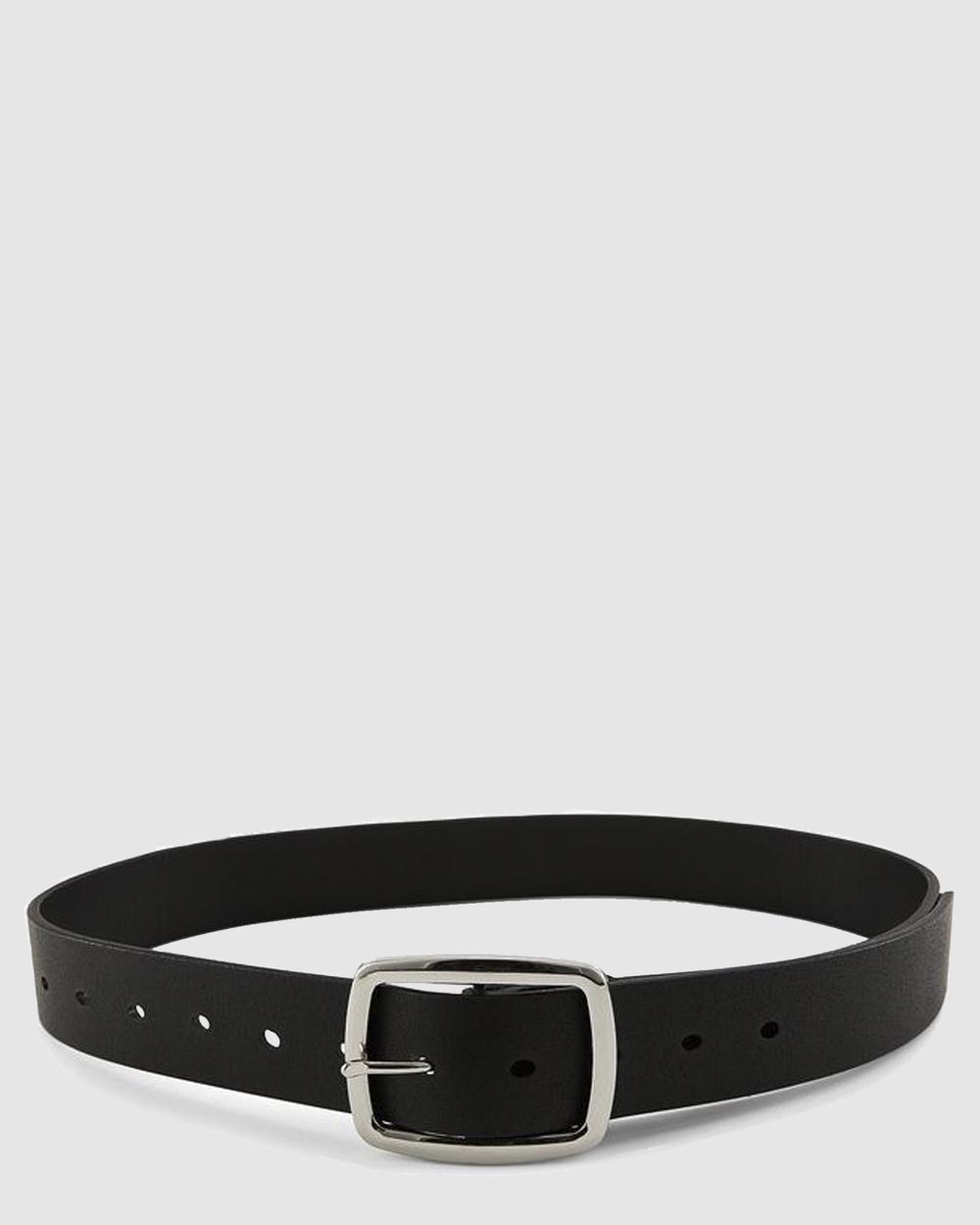 Nakedvice The Zayn Belts Silver