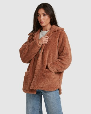 Billabong Cuddle Up Jacket - Coats & Jackets (TOAST)