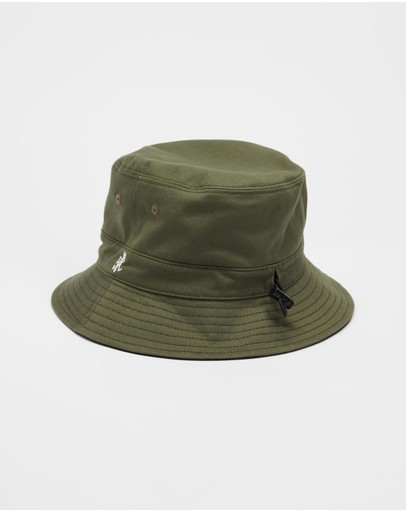 Gramicci Reversible Hat Olive & Black