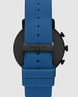 Skagen Falster 2 Blue Smartwatch SKT5112 - Smart Watches (Blue)