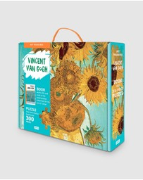 Sassi - Vincent van Gogh Sunflowers 300pcs Puzzle & Book Set