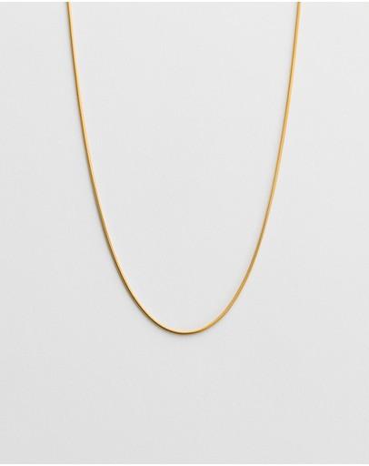 Kirstin Ash Snake Chain 18