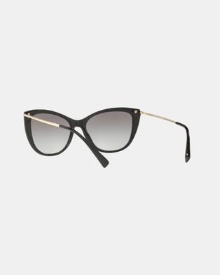 Versace Versace VE4345B - Sunglasses (Black & Grey Gradient)