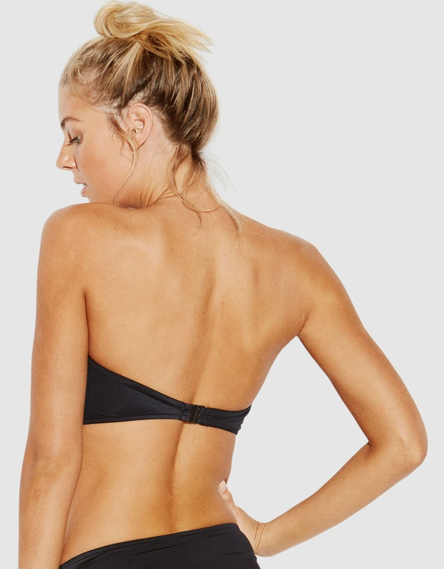 Seafolly - Shine On Twist Bandeau Bikini Top