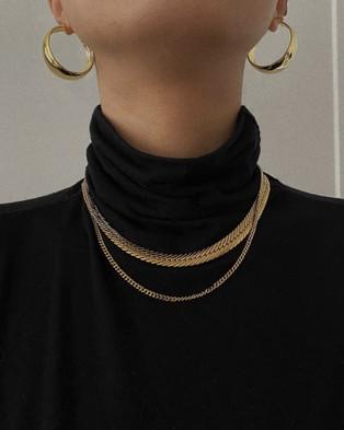 ALIX YANG Frankie Chain - Jewellery (Gold)