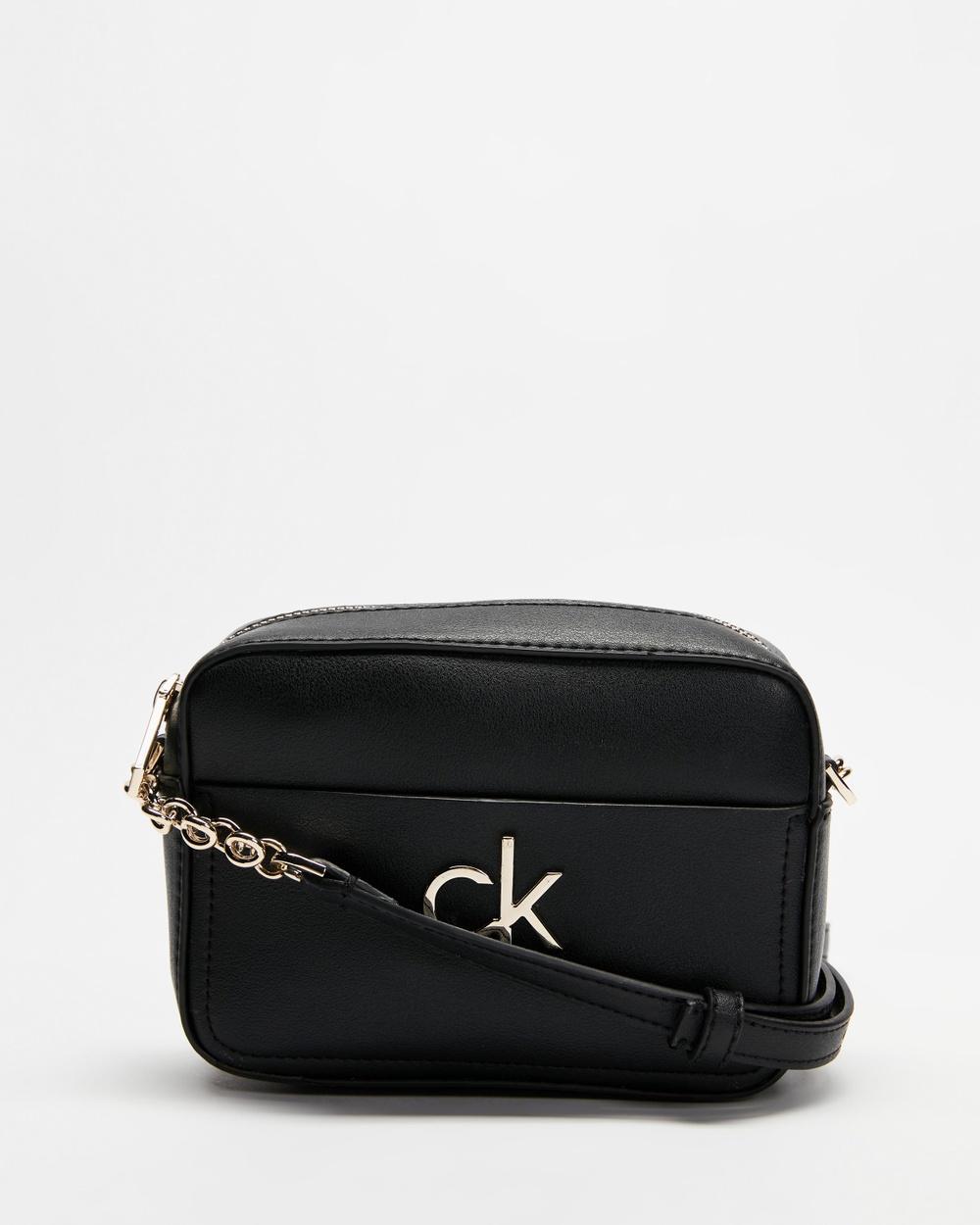 Calvin Klein Camera Bag Bags Ck Black Australia