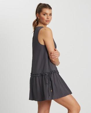 The Fated - May Mini Dress - Dresses (Charcoal) May Mini Dress