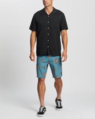 Volcom Deano Short Sleeve Shirt - Shirts & Polos (Black)