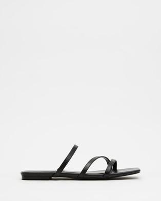 Therapy Garza - Sandals (Black)