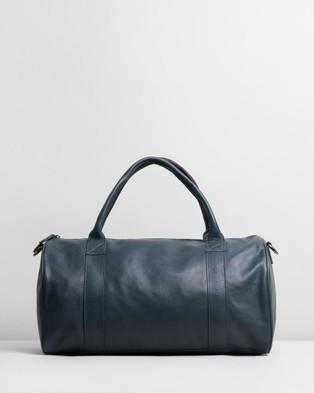 Stitch & Hide Globe Weekender - Duffle Bags (Deep Sea)