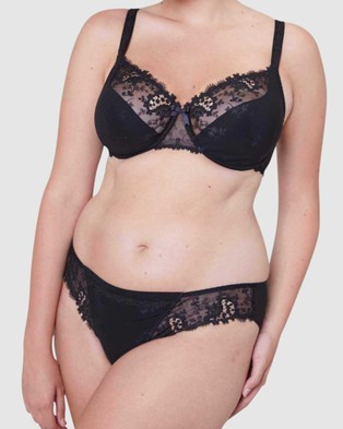 Simone Perele - Wish Bikini Hipster Briefs (Black)