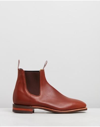 R.m.williams Comfort Craftsman Caramel Bovine Leather
