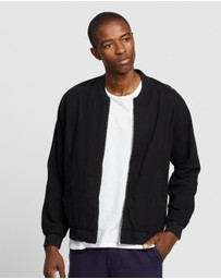 Assembly Label - Nils Canvas Bomber Jacket