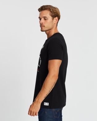 Apr?¿s V??lo - Paris Robaix T Shirt Short Sleeve T-Shirts (Black) Paris-Robaix T-Shirt