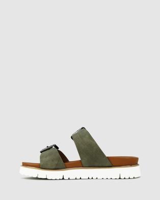 Los Cabos Carter - Sandals (Green)