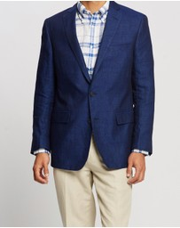 BROOKS BROTHERS - Regent Fit Two-Button Linen Sport Coat