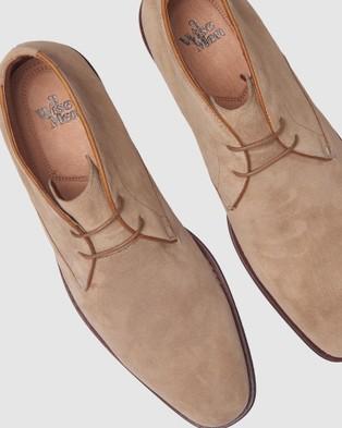 3 Wise Men The Vedder - Boots (Cognac Suede)