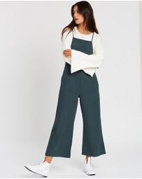 Rusty - Heartbreaker Crop Jumpsuit