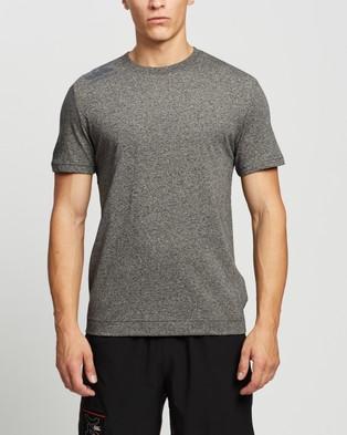 Canterbury Cotton Graphic Tee - Short Sleeve T-Shirts (Black Grey Marle)