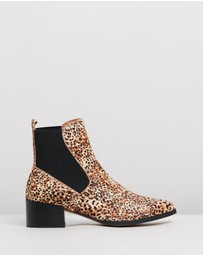 Mollini - Darius Leather Ankle Boots
