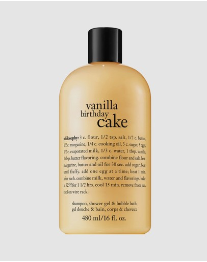 Philosophy - Vanilla Birthday Cake Shampoo, Bath and Shower Gel 480mL