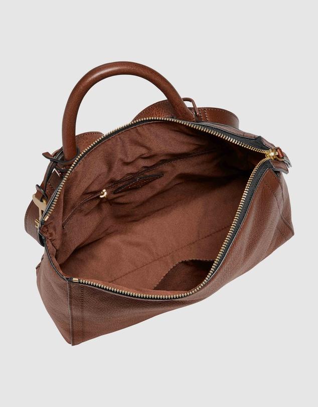 Women Parker Brown Backpack