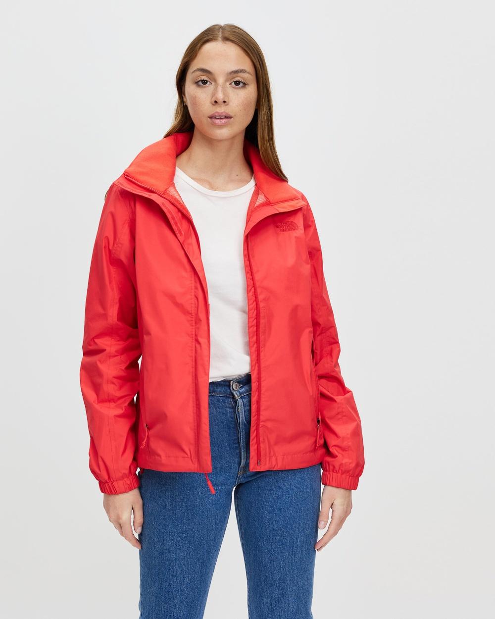 The North Face Resolve 2 Jacket Coats & Jackets Hazard Red