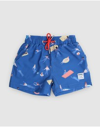 Mosmann - Cabana Boy Swim Shorts - Kids