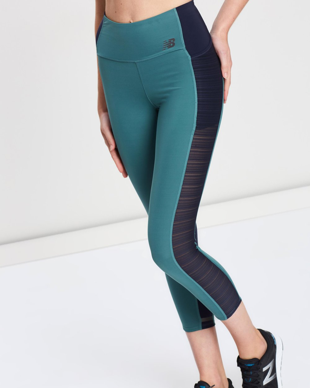 f7a6e459 Q Speed Crop Tights by New Balance Online | THE ICONIC | Australia