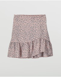 Free by Cotton On - Sofia Wrap Skirt - Teens